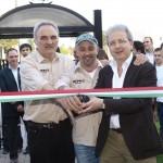 Inaugurazione della nuova sede - nella foto sandro cassanelli, gian luca maselli e massimo nuti