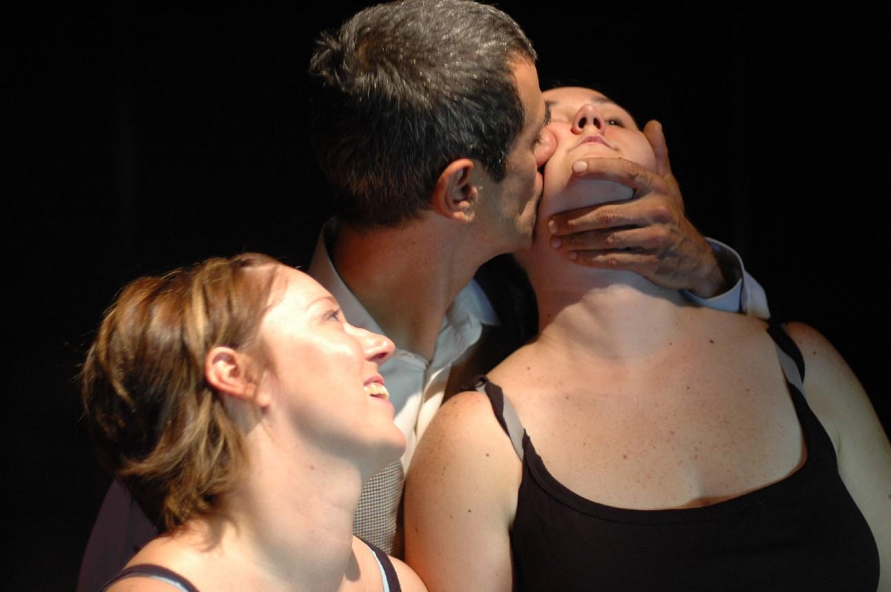 Compagnia Teatro dell'argine in Liberata  - foto di Luciano Paselli