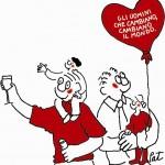 una vignetta di Pat Carra