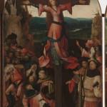 Trittico della martire crocefissa di Jheronimus Bosch