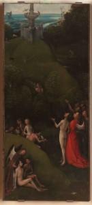 Particolare delle Quattro visioni dell'aldilà di Jheronimus Bosch
