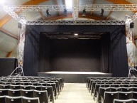 teatro all'interno dell'Auditorium primo maggio