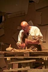 Pinocchio scenapadre1, compagnia di Sollicciano